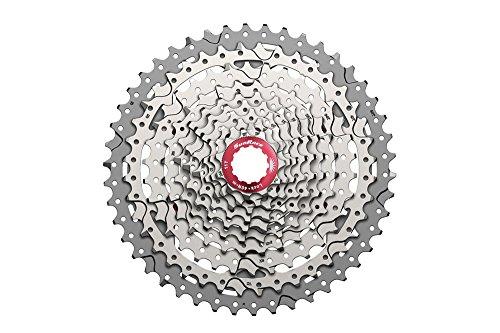 SunRace csmx3Cassette für Fahrrad, 10Geschwindigkeiten, grau, Einheitsgröße
