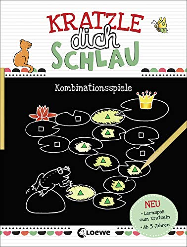 Kratzle dich schlau - Kombinationsspiele: Lernspiele für Kinder ab 5 Jahre
