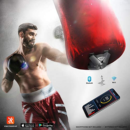 TGU Boxing Gifts - Force Tracker, Speed & Power Sensors Training Equipment   High-Tech Gadget & Gear for Punch & Kick, Gym, Fitness, MMA Fight