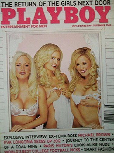 Playboy Magazine - September 2006 - The Girls Next Door