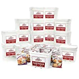 Emergency Year Supply Food Storage: 2160 Large Servings - 554 lbs - Disaster Survival Preparedness Supply - 25 Year Shelf Life - Freeze Dried/Dehydrated Meals