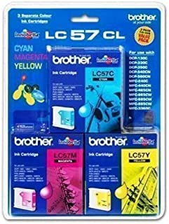 Brother Inkjet Cartridge for DCP130C, DCP330C, DCP350C, DCP540CN, DCP560CN, MFC240C, MFC440CN, MFC665CW, MFC685CW, MFC885CW, MFC3360C, MFC5460CN, MFC5860CN, Fax2480C, MFC465CN - ink cartridges (DCP330C, DCP350C, DCP540CN, DCP560CN, MFC240C, MFC440CN, MFC665CW, MFC685CW, MFC885CW, MFC3360C, MFC5460CN, MFC5860CN, Fax2480C, MFC465CN, cyan, magenta, yellow, 8 - 80%, DCP130C, DCP330C, DCP350C, DCP540CN, DCP560CN, MFC240C, MFC440CN, MFC665CW, MFC685CW, MFC885CW, MFC3, 5 - 35 °C, Inkjet)