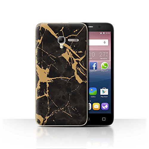Stuff4Phone case/cover/Skin/ALCPOP35/geometrico marmo modello Collection Gold Cracked Marble
