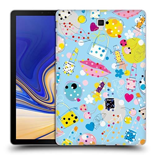 Head Case Designs Offizielle Turnowsky Bonbon Küss Anna B Harte Rueckseiten Huelle kompatibel mit Galaxy Tab S4 10.5 (2018)