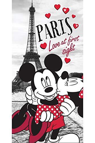 Jerry Fabrics 226128 Enfants baignade plage et serviettes de bain, 100% coton, Mickey et ses amis,Multicolore, 140x70 cm