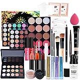 Kits de Maquillaje, Set de Cosméticos Todo en Uno, Set de Regalo de Maquillaje Kit de Inicio Completo con Sombras de Ojos, lápiz Labial, Kit de Cosméticos para Niñas Mujeres#1