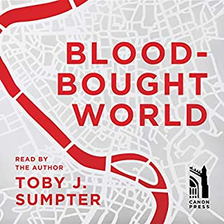 Blood-Bought World audiobook cover art