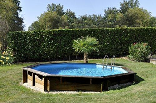 Piscine Bois Gre Violette TerraPools 511x124 cm.