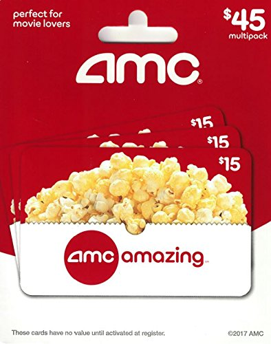 gift card deals still live grab last minute savings today AMC Theatre  Gift Cards, Multipack of 3