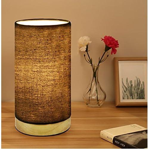 Round Wooden Lamp Bases Amazon Com
