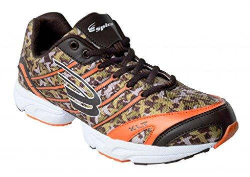 Spira Men's Camo Perfomance Shoe-Orange-9.0