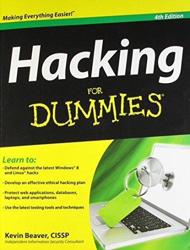 Hacken für Dummies (Fur Dummies) von Beaver. Kevin (2013) Taschenbuch