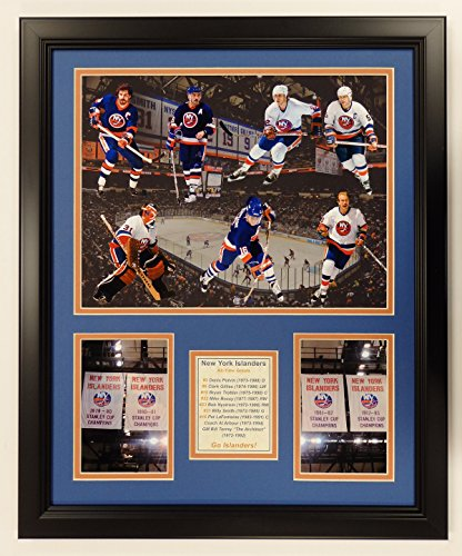 Mike Bossy New York Islanders NHL Framed 8x10 Photograph Stanley Cup Overhead