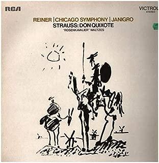 R. Strauss: Don Quixote; Rosenkavalier: Waltzes. CSO, Reiner