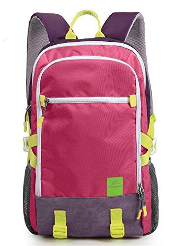 sac à dos randonnée Loisirs Sports Sac de voyage hommes et les femmes alpinisme sac à dos randonnée 40L Sacs à dos de randonnée ( Couleur : Rose red , taille : 40L )