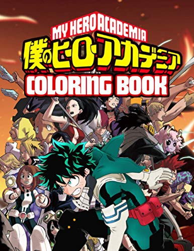 My Hero Academia Coloring Book