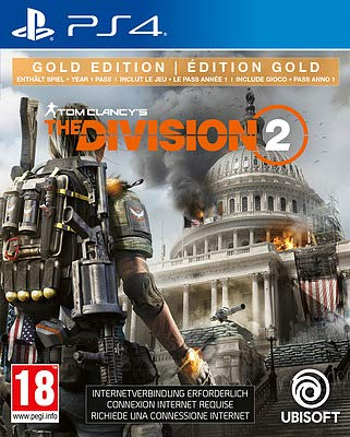 Tom Clancys The Division 2 Gold Edition (AT-PEGI) Playstation 4