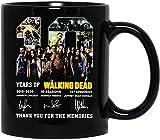 N\A Película The #Walking Dead Firmado Gracias por los Recuerdos Taza de Regalo Taza de cerámica