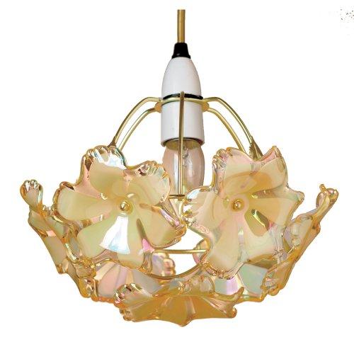 Lighting Web Co Abat-jour acrylique Fleur Or 7