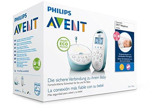 Philips Avent Ecoute-Bébé - Rechargeable DECT SCD560/00