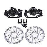 JDV TX805 Piezas mecánicas de Ciclismo MTB Rotor de Bicicleta Pinzas de Freno de Disco 160 MM G3 HS1 Discos de Freno(TX805 Front)