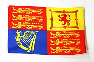 AZ FLAG United Kingdom Royal Standard Flag 2' x 3' - UK Royal Standard Flags 60 x 90 cm - Banner 2x3 ft