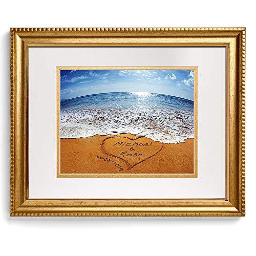 Sand Writing Personalized Art