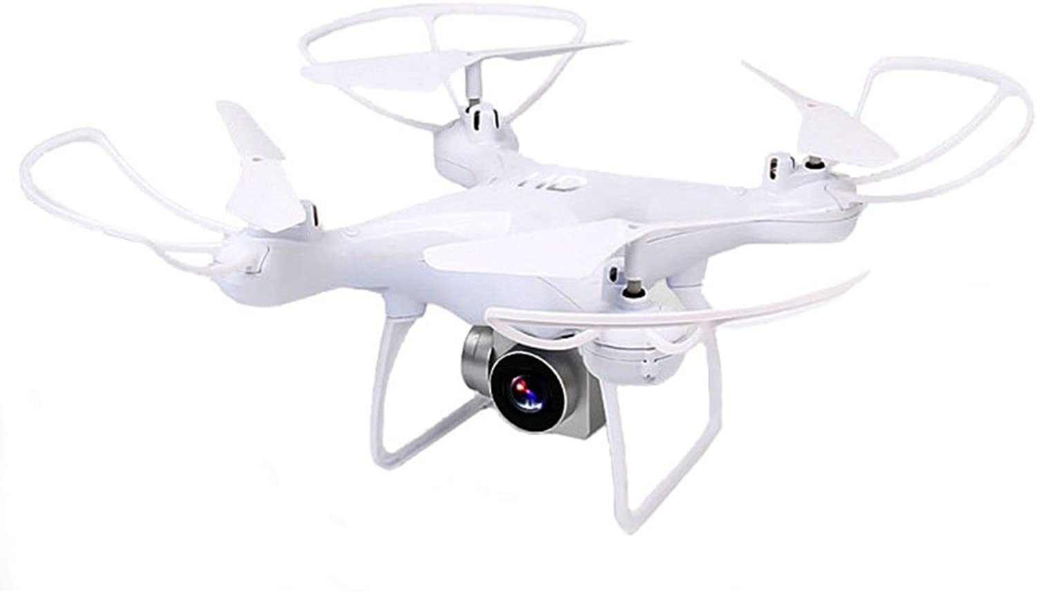 Drones with Camera 30W Pixel,Intelligent 20min 4 Channel One Key Take Off Altitude Hold Quadcopter Drones for Kids Adults Beginners_White