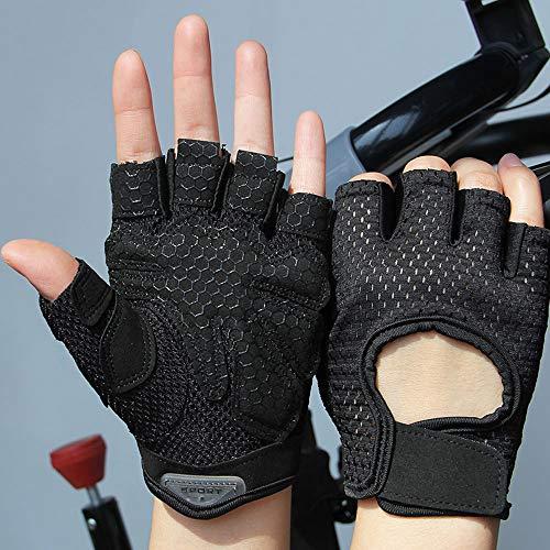 Agelec Ultraleichter, superelastischer, atmungsaktiver und verschleißfester Gym-Handschuh, mit voller Handgelenkstütze, Handballenschutz und extra Grip, atmungsaktiven Sporthandschuhen für Fitnessstud