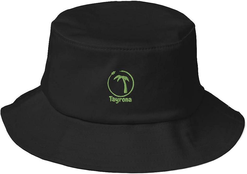 Tayrona Men's Old Limited price sale School Bucket San Diego Mall Green Kiwi Hat Logo