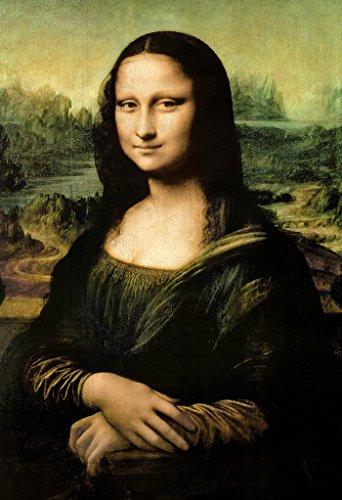 Leonardo DaVinci-Mona Lisa, Art Poster Print, 24 by 36-Inch