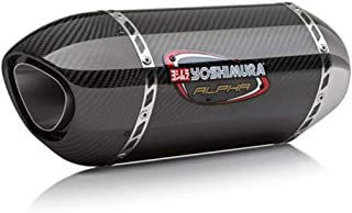 Yoshimura 16-17 Suzuki GSX-S1000 Alpha Slip-On Exhaust (Signature/Stainless Steel/Carbon Fiber/Carbon Fiber)