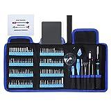 E·Durable 128en1 Tournevis Précision complet, Precision Tournevis Phone Kit Repair Cell Phone, iPhone, iPad, MacBook, PC, Tablet, Laptop, Xbox, Game Console