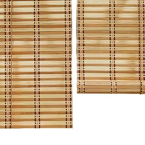 Store enrouleur à protection solaire, abat-jour extérieur enroulable avec raccords, pour porche, pergola, balcon, cour (Taille : 100 × 200 cm)