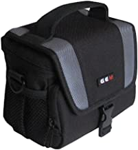 GEM Compact Case for Panasonic Lumix DC-GF10  with lens attached including the 12-32mm lens  plus limited accessories