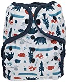 Thirsties Duo Wrap Cloth Diaper Cover, Snap Closure, Adventure Trail Size Two (18-40 lbs)
