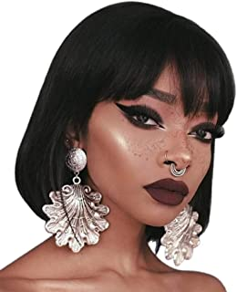 Best bob wig with bangs african american Reviews