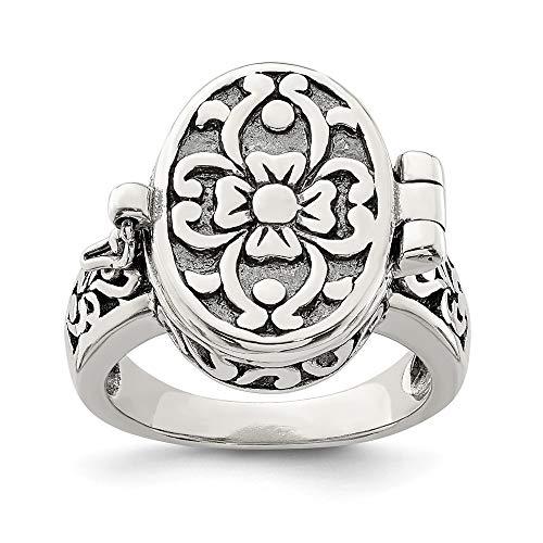 locket ring - 9