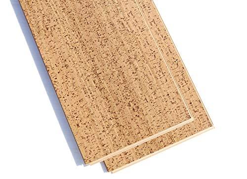 Berber Forna 1/2' (12mm) 12'X36' Uniclic Floating Cork Flooring 17.44 SF/Box Environmentally...