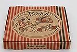 Pizzakartons Guten Appetit 100x Pizzaboxen 4,2cm hoch (30x30cm)