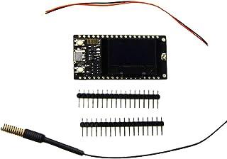TTGO LORA32 433 MHz OLED de 0,96 Pulgadas Módulo WiFi con Pantalla Bluetooth Módulo inalámbrico Bluetooth Classic Pass-Thr...