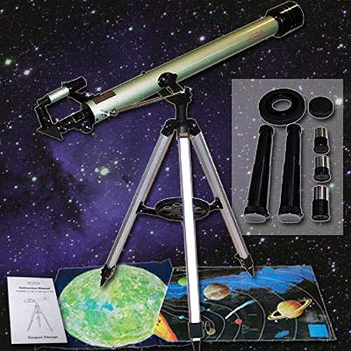 Mega Komplettset Refraktor Teleskop 675-Fache Vergrößerung 60/900 Starhazer Mond Weltall TK1