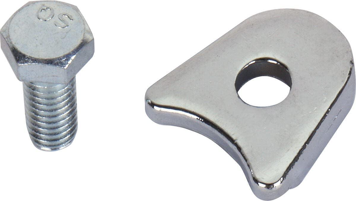 MACs Auto Parts 47-74240 Chrome Distributor Clamp And Bolt, 260/