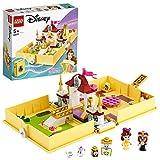 LEGO 43177 Disney Princess Cuentos e Historias: Bella, Juego de Viaje, Juguete de La...