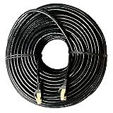 LANケーブル 50M CAT7 ギガビット10Gbps 600MHz カテゴリー7 イーサネットケーブル ブラック