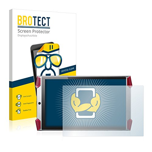 BROTECT Schutzfolie kompatibel mit Acer Predator 8 (2 Stück) klare Bildschirmschutz-Folie