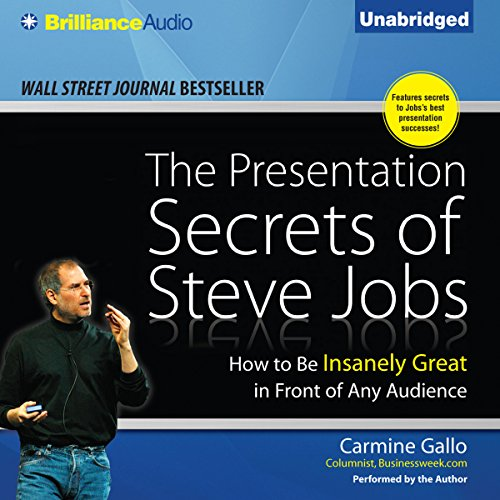 The Presentation Secrets of Steve Jobs audiobook cover art