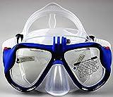 WOWDECOR Tauchmaske für Gopro Kamera Erwachsene Kinder mit Kurzsichtigkeit Kurzsichtig,...