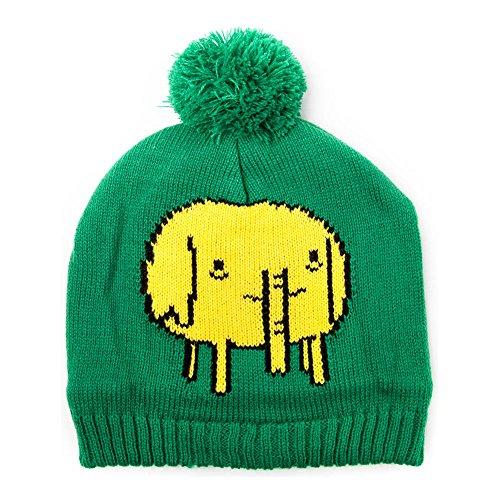 Adventure Time Tree Trunks Bonnet à Pompon Vert
