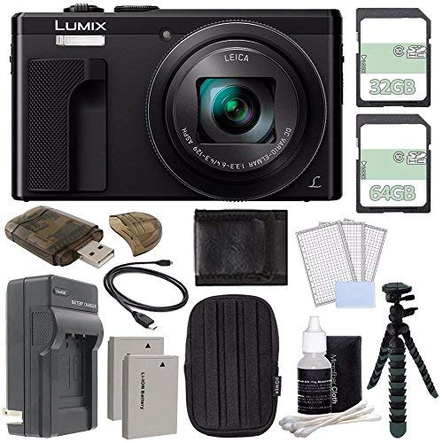Panasonic Lumix DMC-ZS60 Digital Camera (Black) +...
